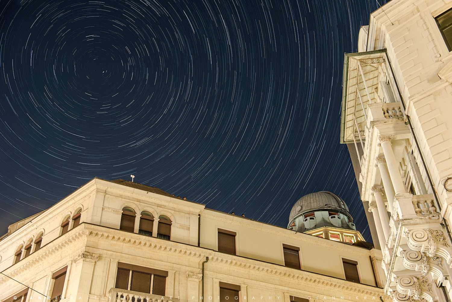 Downtown Star Trails