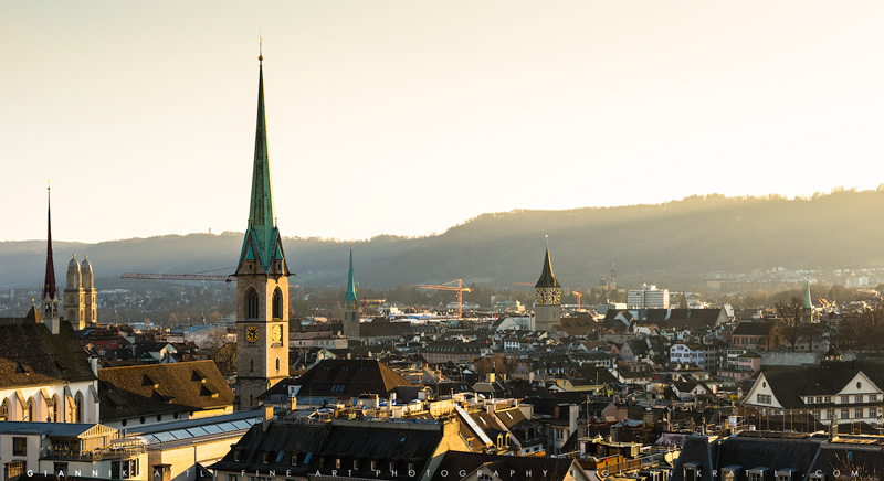 Chruches of Zurich