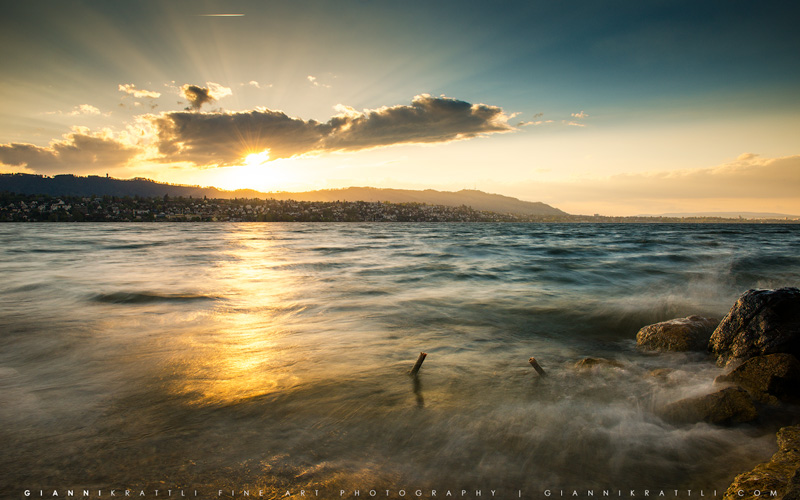 Lake Zurich Sunset