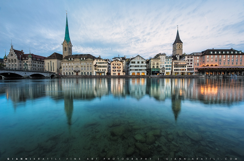Zurich Riverbed