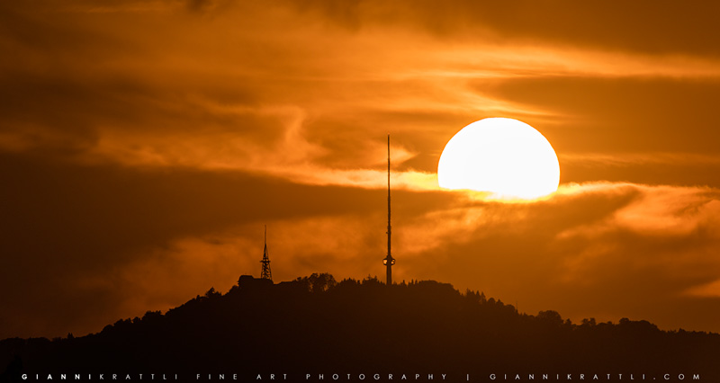 Sundown Uetliberg